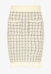 faina - Pencil skirt - wollweiss - 4