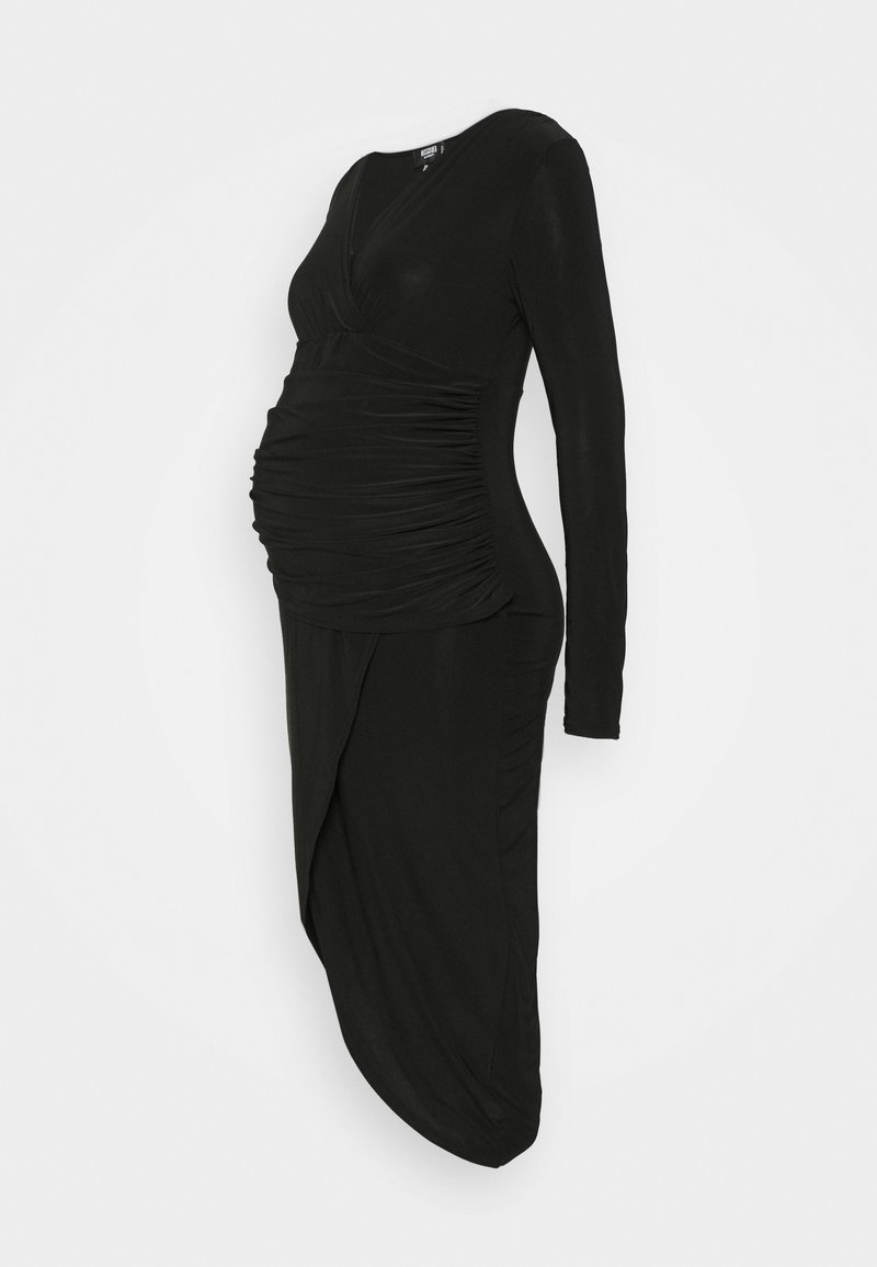 Missguided Maternity - TIE DYE JOGGER - Jersey dress - black
