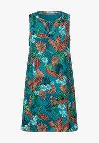 Cecil - MIT HAWAII PRINT - Day dress - türkis - 2