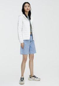 PULL&BEAR - Winter jacket - white - 1