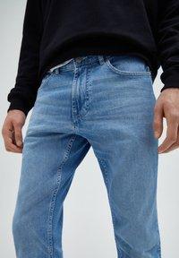 PULL&BEAR - Slim fit jeans - stone blue denim - 3