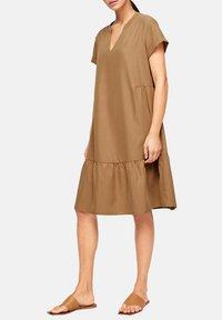 s.Oliver BLACK LABEL - Day dress - brown - 3