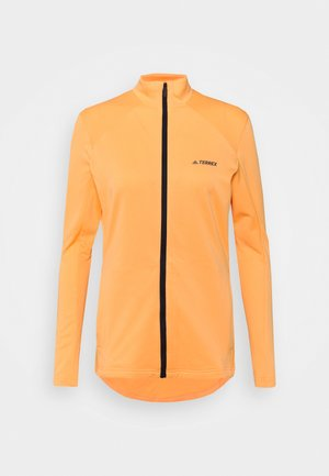 TERREX MULTI FULLZIP - Fleecejakke - hazy orange