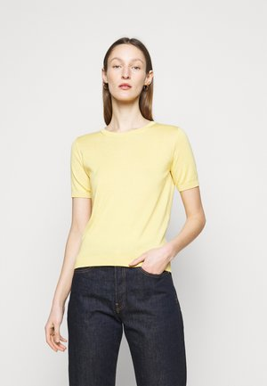 CAIRO - Jednoduché triko - zartgelb