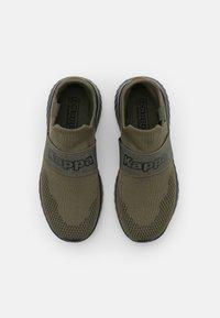 Kappa - PEC UNISEX - Chaussures d'entraînement et de fitness - army/black - 3
