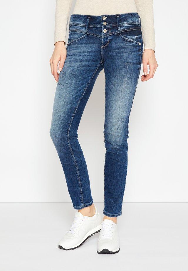 ALEXA - Jeans Slim Fit - random bleached/blue denim