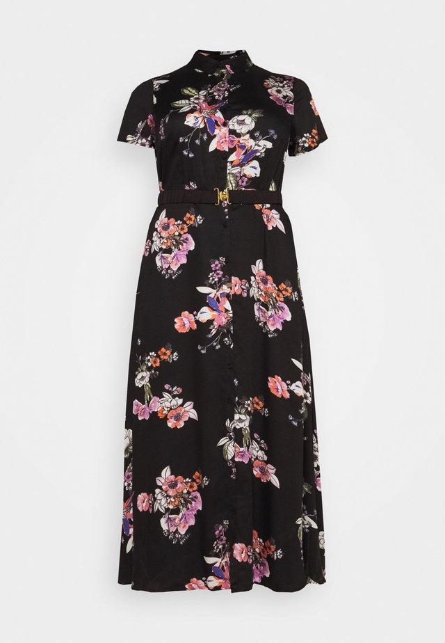 VMLOVELY  SHIRT DRESS - Korte jurk - black