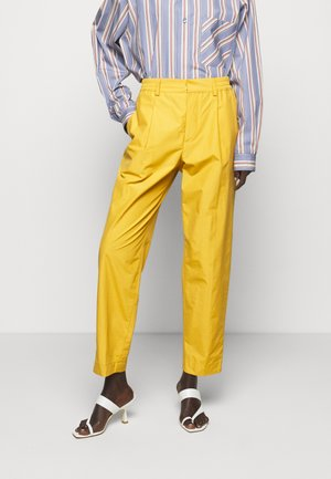 VALENTIN - Trousers - ocre