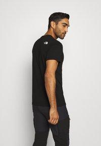 The North Face - BERKELEY CALIFORNIA POCKET TEE - T-shirts print - black - 2