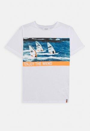 TEENAGER - Print T-shirt - white
