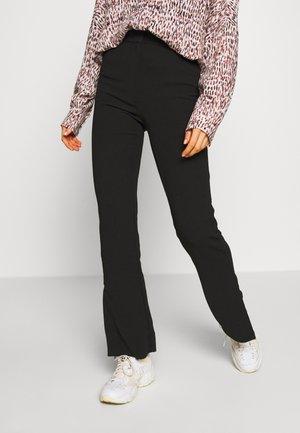 HALLIE TROUSER - Trousers - black