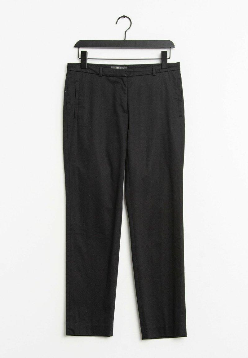 Esprit - Trousers - black