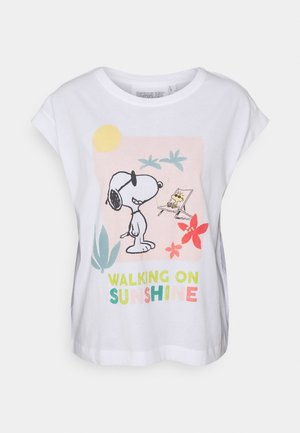 SHORT SLEEVES - Pyjama top - summer ecru