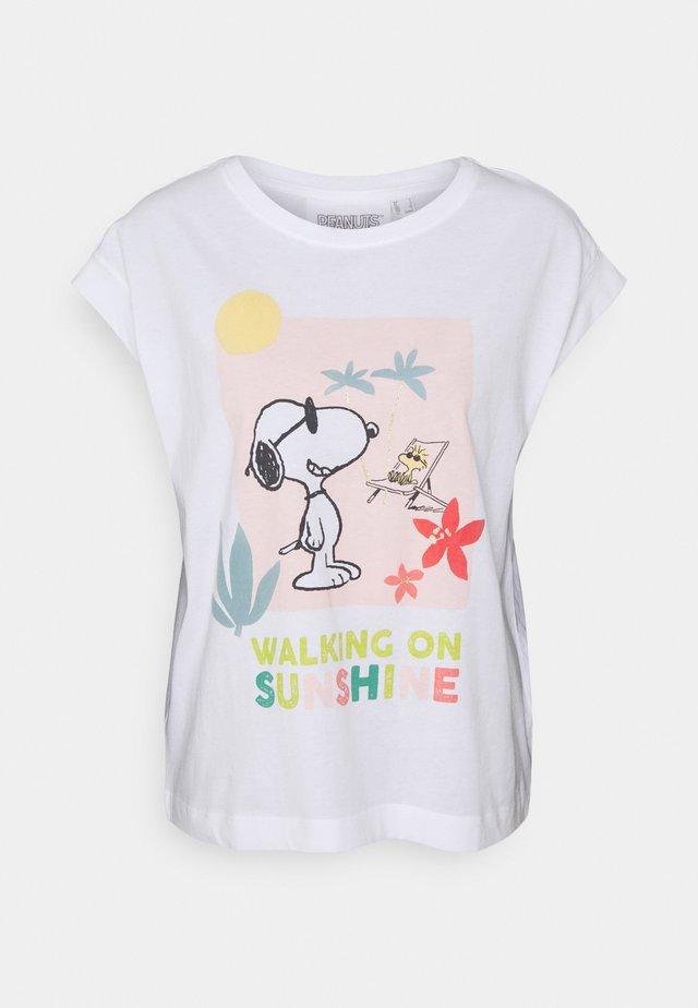 SHORT SLEEVES - Nachtwäsche Shirt - summer ecru
