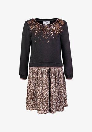 LEO  - Jumper dress - black