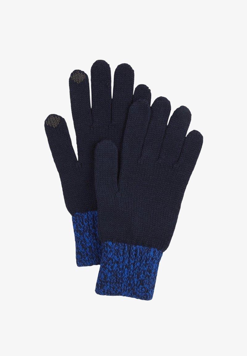 s.Oliver - TOUCHSCREEN - Gloves - dark blue