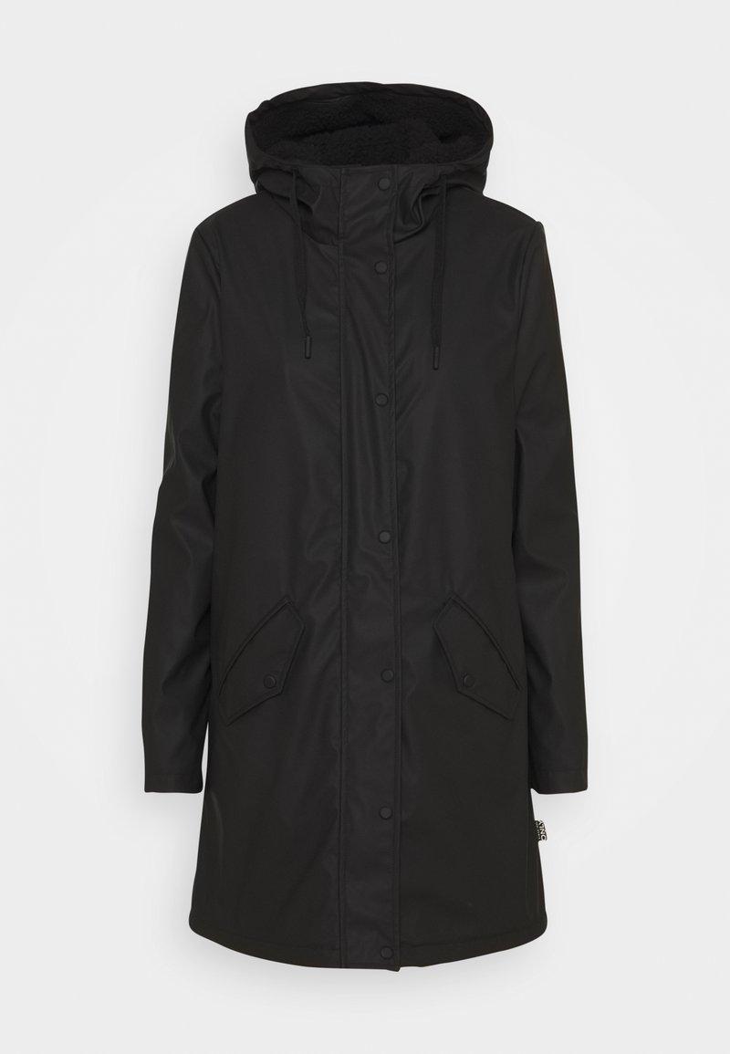 ONLY Tall - ONLSALLY RAINCOAT - Parka - black