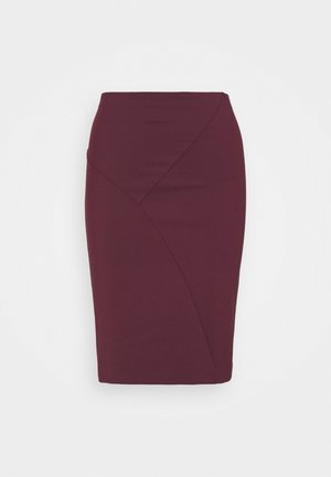 SKIRT  - Mini skirt - violet swan