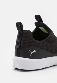 Puma Golf - LAGUNA FUSION SLIP ON - Chaussures de golf - black/silver - 5