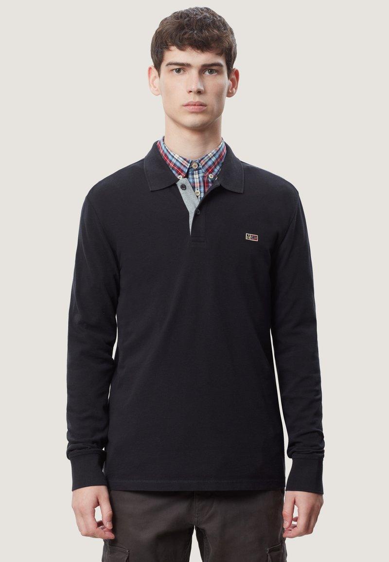 Napapijri - TALY - Polo shirt - black