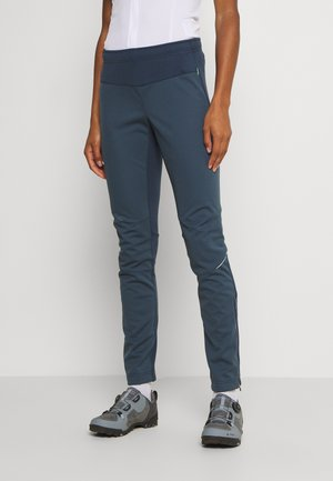 WOMENS WINTRY IV - Outdoor trousers - steelblue