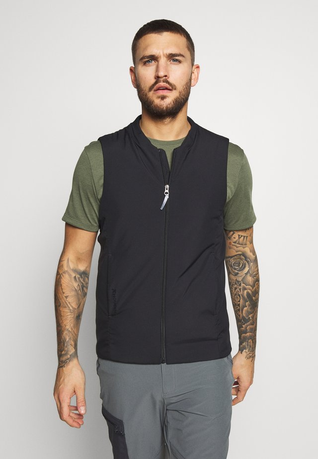 VENTURE VEST - Bodywarmer - true black