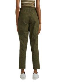 edc by Esprit - TWIST  - Trousers - khaki green - 7