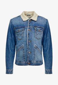 SHERPA - Light jacket - blue denim
