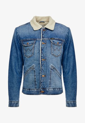 Denim jacket - blue denim