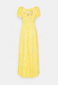 Diane von Furstenberg - POPPY DRESS - Maxi dress - sunshine yellow - 1
