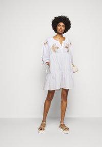 Steffen Schraut - IPANEMA SUMMER TUNIC DRESS - Day dress - white - 1