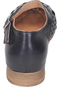 Piazza - Ankle strap ballet pumps - schwarz - 2