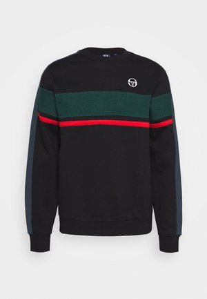 BOSTON SWEATER - Sweatshirt - black/botanical