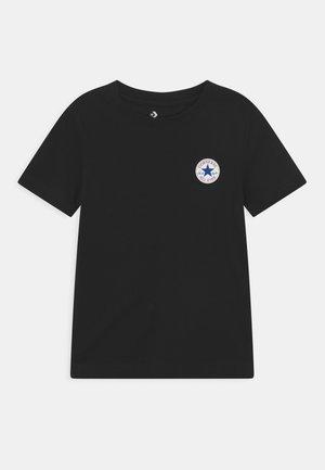 UNISEX - Jednoduché triko - black