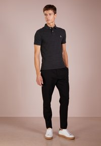 Polo Ralph Lauren - SLIM FIT MODEL - Polo - black coal heather - 1