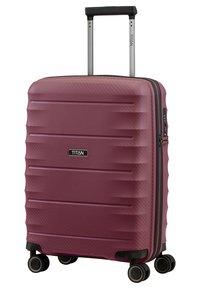 Titan - HIGHLIGHT  - Wheeled suitcase - merlot - 2