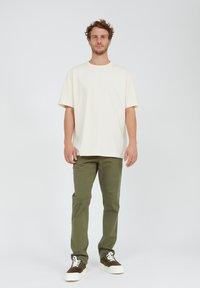 ARMEDANGELS - AALEX UNDYED - Basic T-shirt - undyed - 1