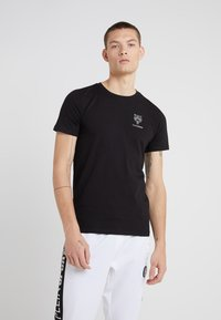 Plein Sport - ROUND NECK ORIGINAL - T-shirts basic - black - 0