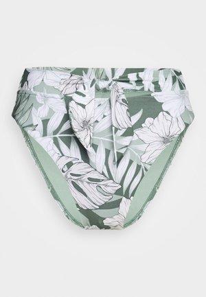 COPACABANATIE FRONT HI RISE - Bikini bottoms - vine