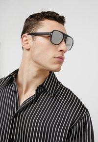 Versace - Sunglasses - matte black - 1