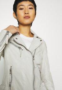 Gipsy - LABAGV - Leather jacket - off white - 4