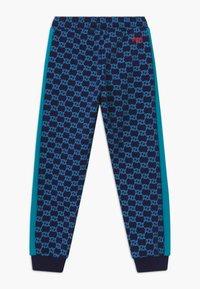 Fila - LORENZO - Trousers - black iris/capri breeze - 1