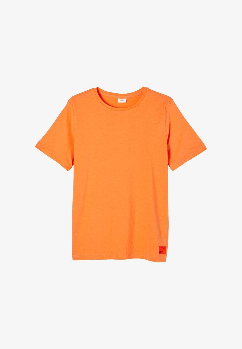 s.Oliver - Basic T-shirt - orange