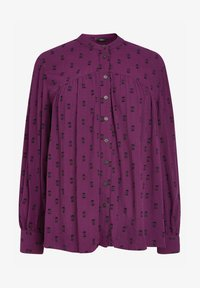 Next - Button-down blouse - berry - 3