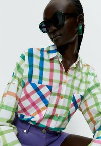 Uterqüe - Button-down blouse - white - 4
