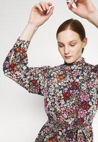Vero Moda - VMSELMA SHORT HIGH NECK DRESS  - Day dress - wild rose/selma - 3