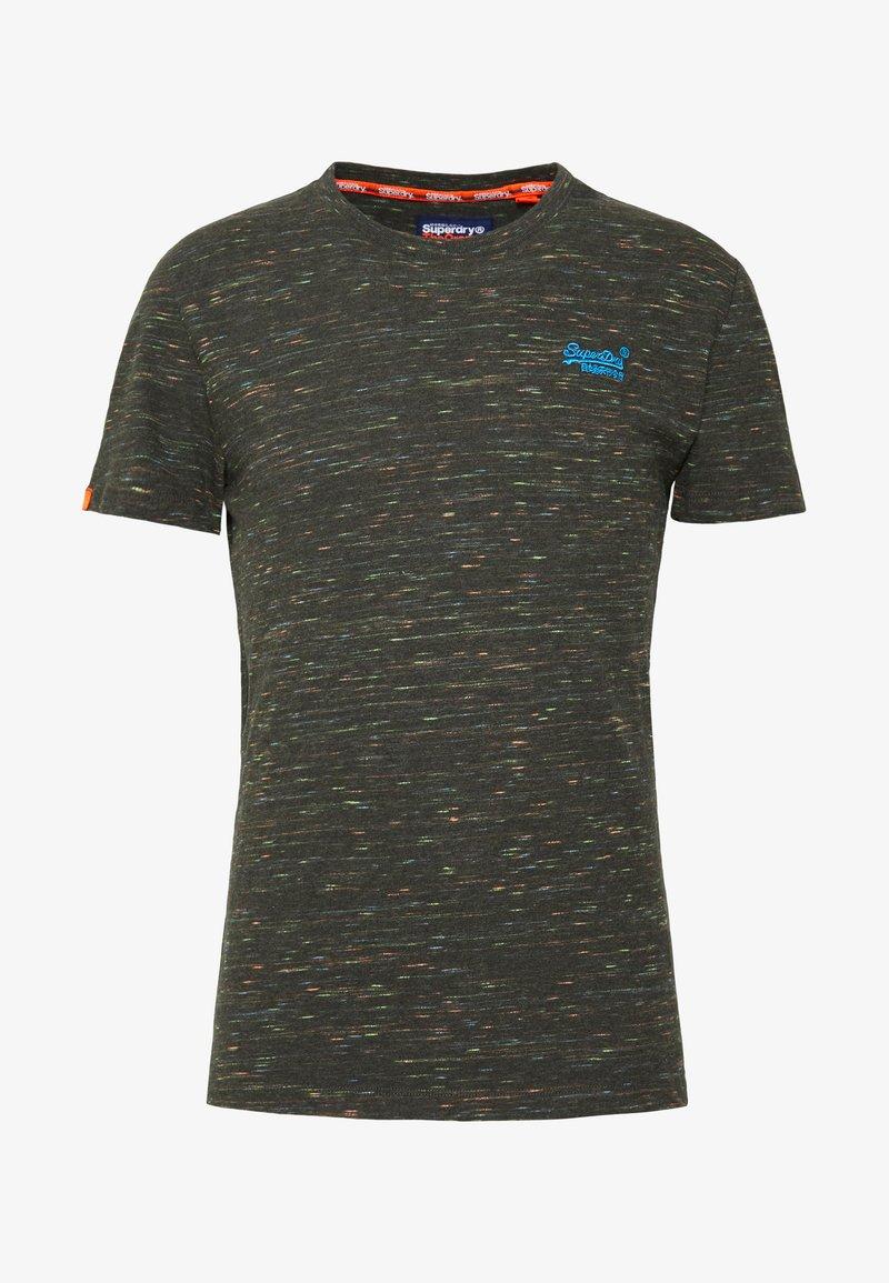 Superdry T-Shirt basic - burnt gold grit/orange-meliert t1B8vd