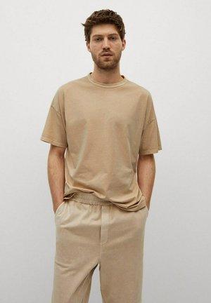 T-shirt basique - gris claro/pastel
