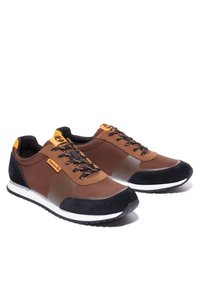 Timberland - LUFKIN  - Trainers - md brown mesh wblk - 1