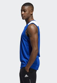 adidas Performance - CREATOR 365 JERSEY - Funktionsshirt - blue/white - 2